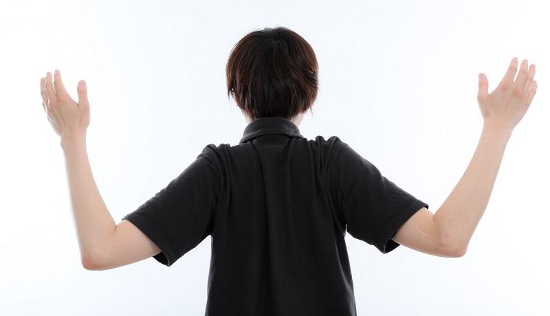 肩甲骨ほぐしストレッチ