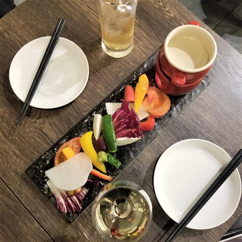 エロうま野菜のバーニャカウダ