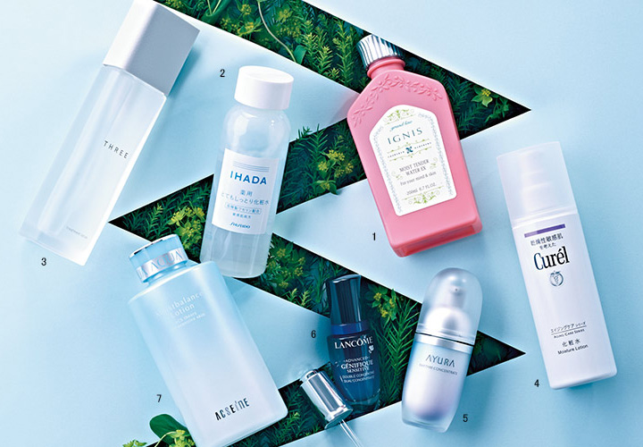 資生堂薬品 イハダ|薬用ローション(とてもしっとり)、花王 キュレル|エイジングケア シリーズ 化粧水