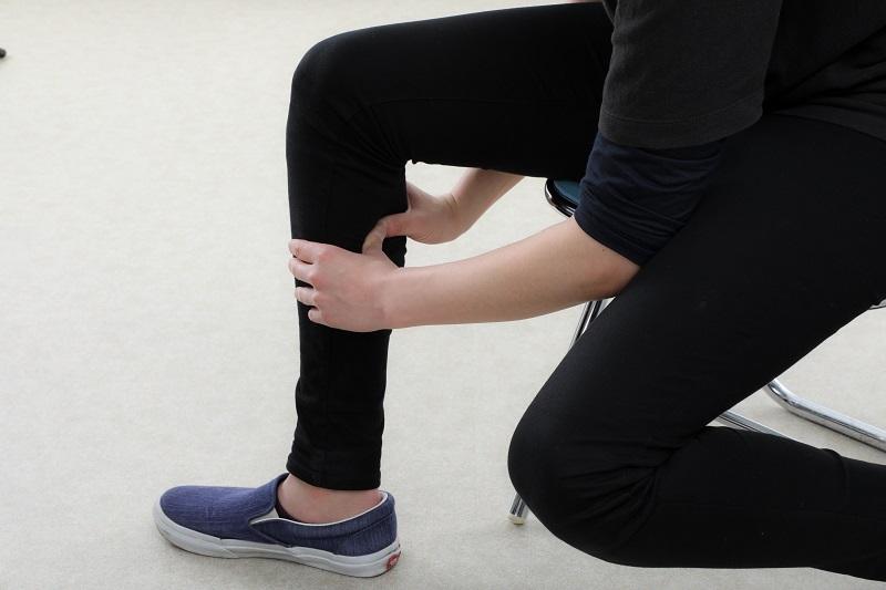 だる重な脚のむくみに効果的なツボ押し法