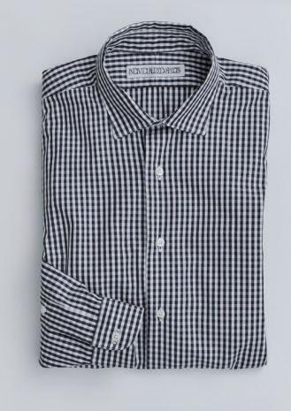 B|ギンガムチェックシャツ