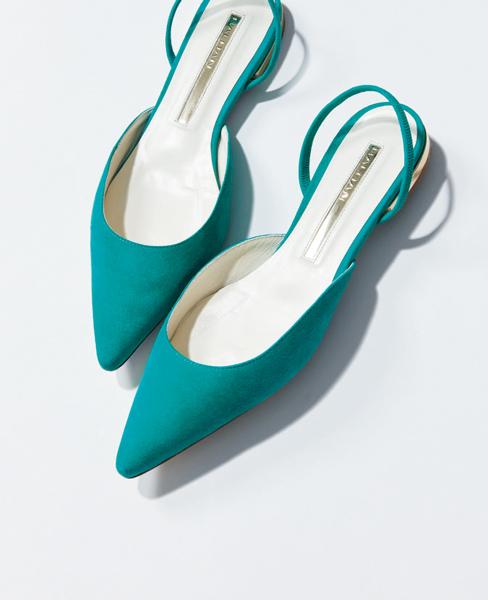バルダン ケリーグリーン靴