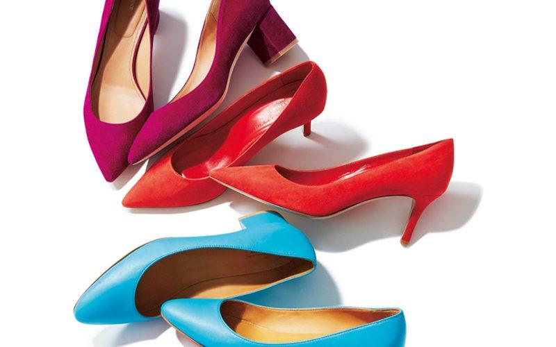 冬から春に着回しできる! 印象美人のためのビビッド靴【注目