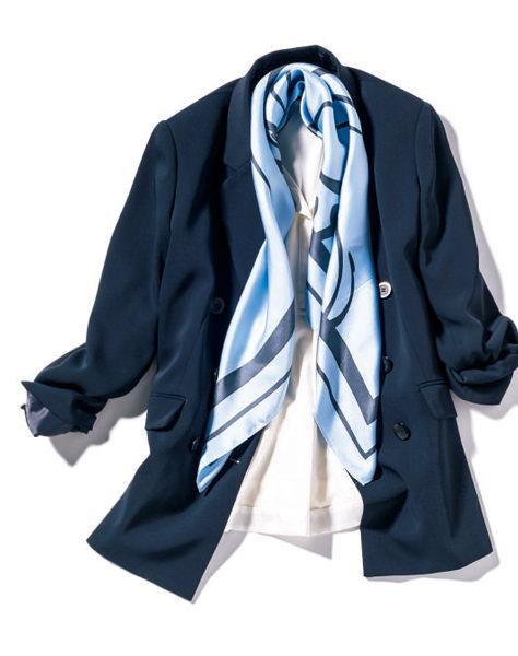 BOSCHのネイビーのジャケット