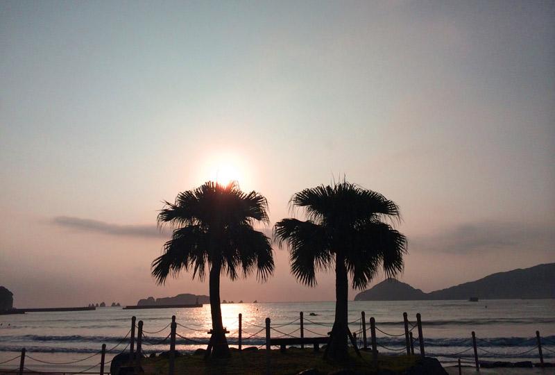 宮崎の日南・大堂津海岸