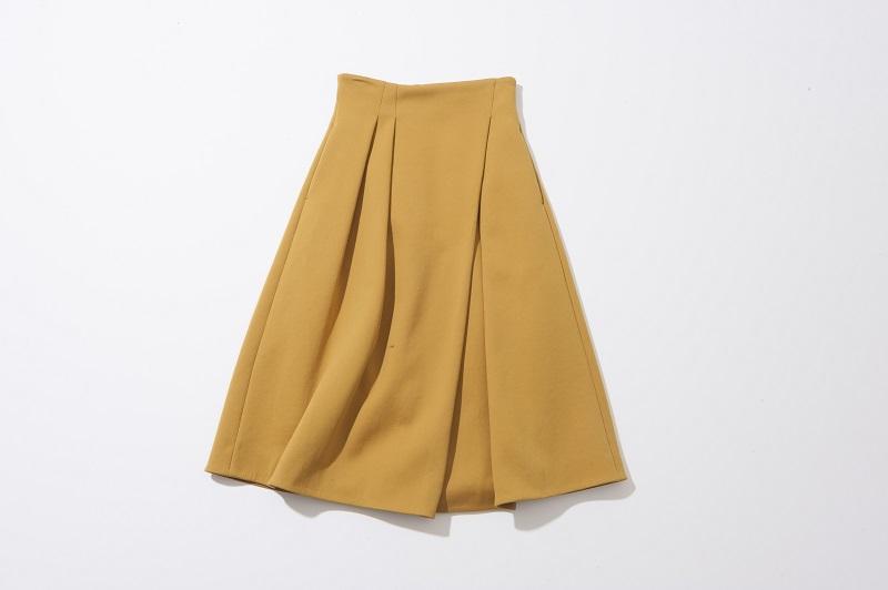 Fluid.のフレアスカート