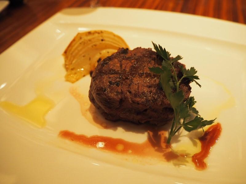 アンガス牛のテンダーロインステーキ