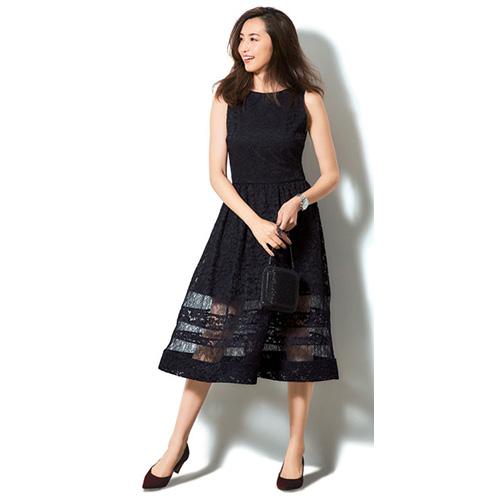 3a4c27b515fbf パーティードレス黒コーデ10選 レディース パーティに着ていきたいおすすめスタイルファッション
