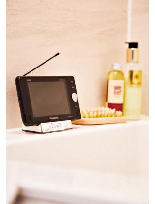 防水お風呂テレビ