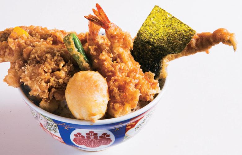 金子半之助 神田小川町店の【天丼(松)】