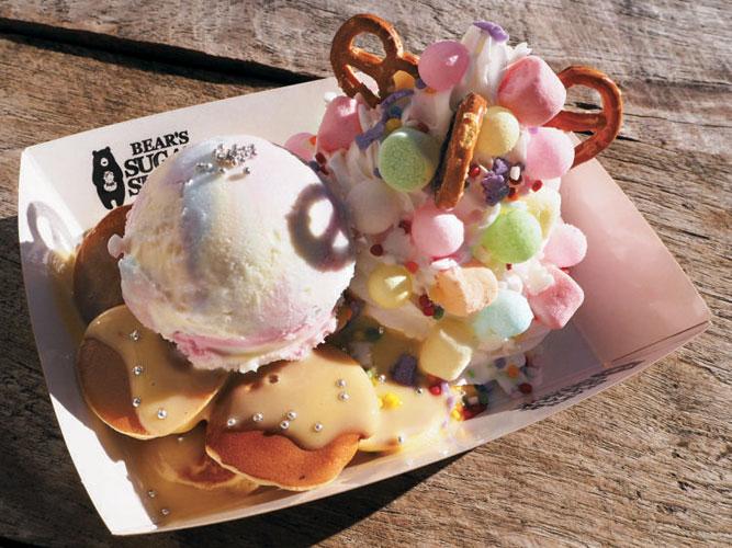 BEAR'S SUGAR SHACKの【カスタム パンケーキ】