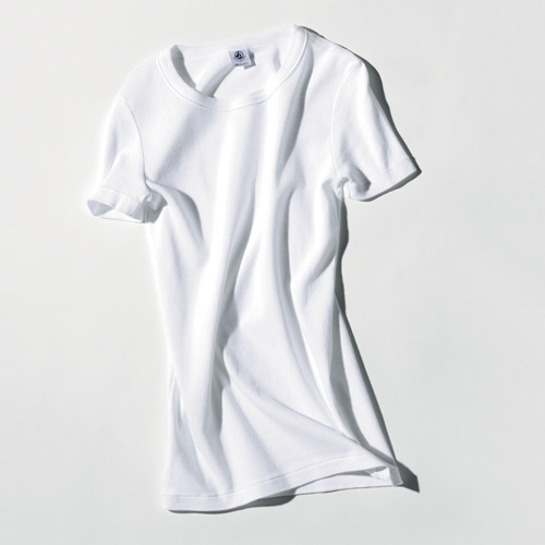 白Tシャツ・ブランド:プチバトー