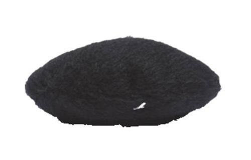 黒ベレー帽