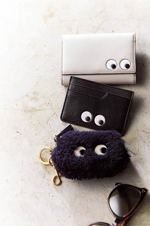 白二つ折り財布・ブランド:アニヤ・ハインドマーチ