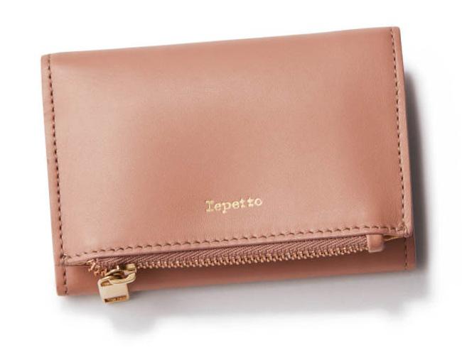 レペット×ピンクのミニ財布