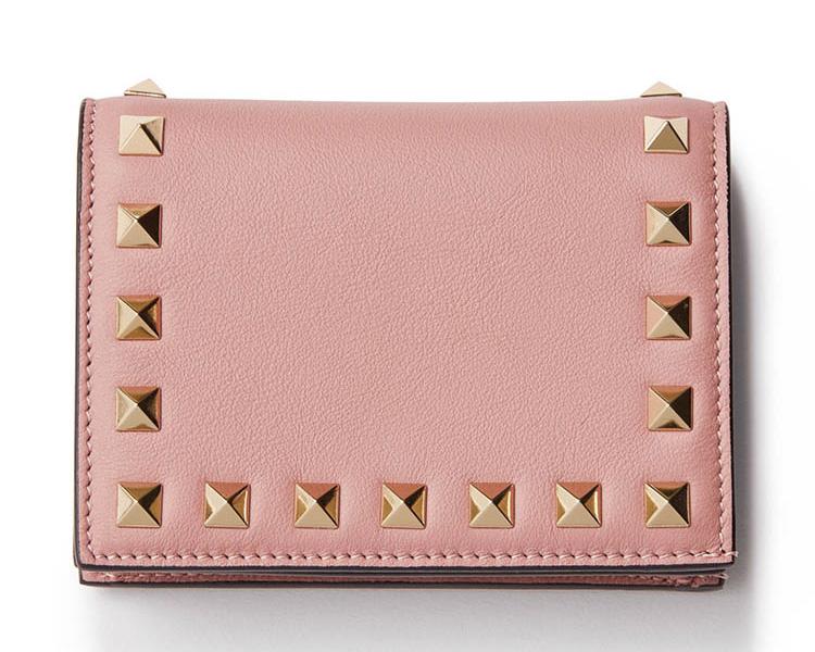 ヴァレンティノ×ピンクのミニ財布
