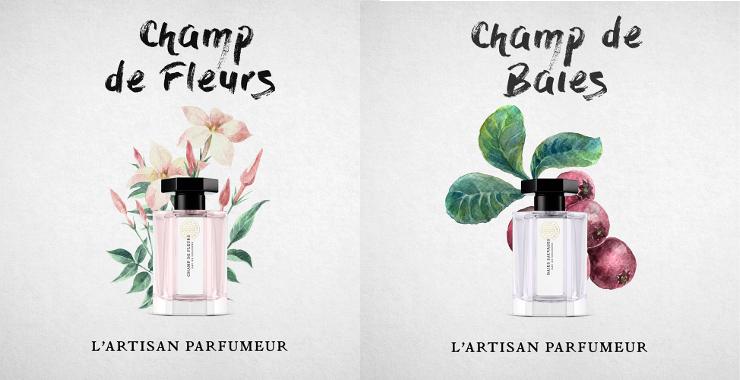 花畑とベリー畑の香水
