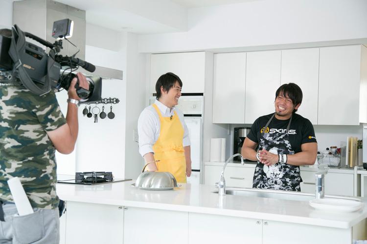 YAMATO選手 カメラ目線