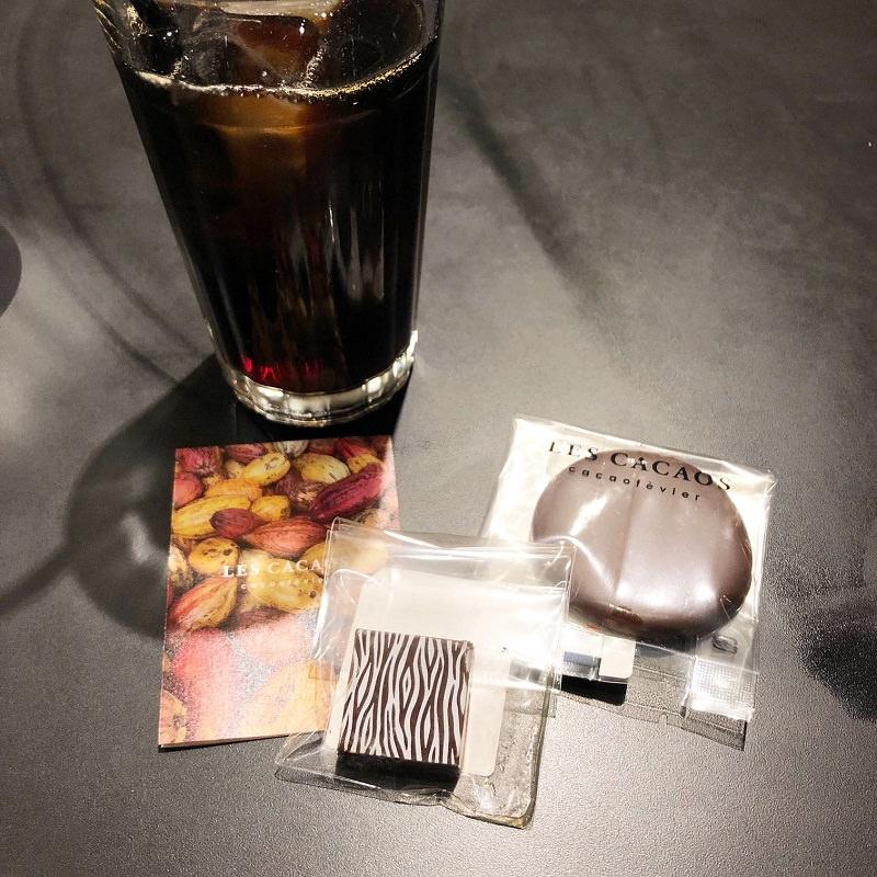 チョコ 焼き菓子 ドリンク