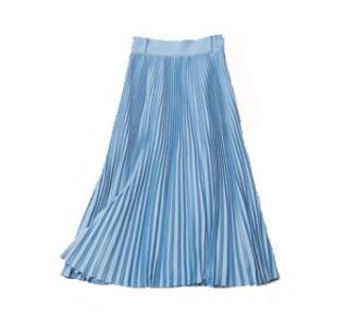【ハイク】ロング丈プリーツスカート