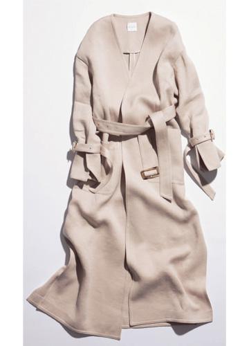 【ステア】軽やか素材のコート