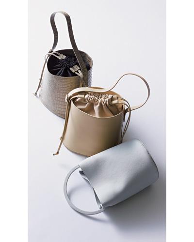 ショルダーバッグ おすすめ×ペリーコのバケツ型バッグ