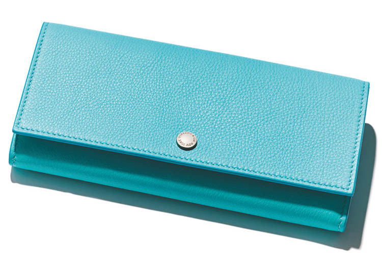 ティファニー×スカイブルーの長財布