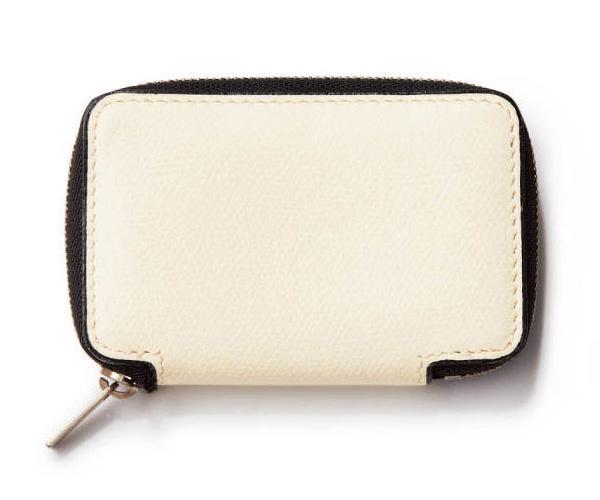 ヴァレクストラ×白のミニ財布