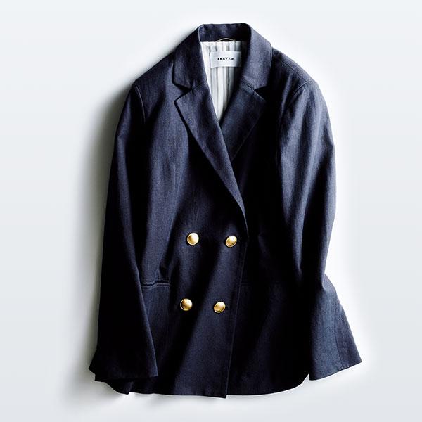 FRAY I.Dのネイビージャケット