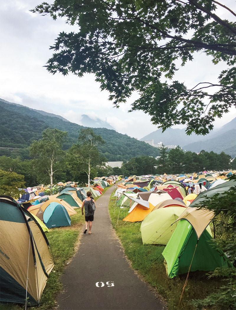 フェス キャンプ