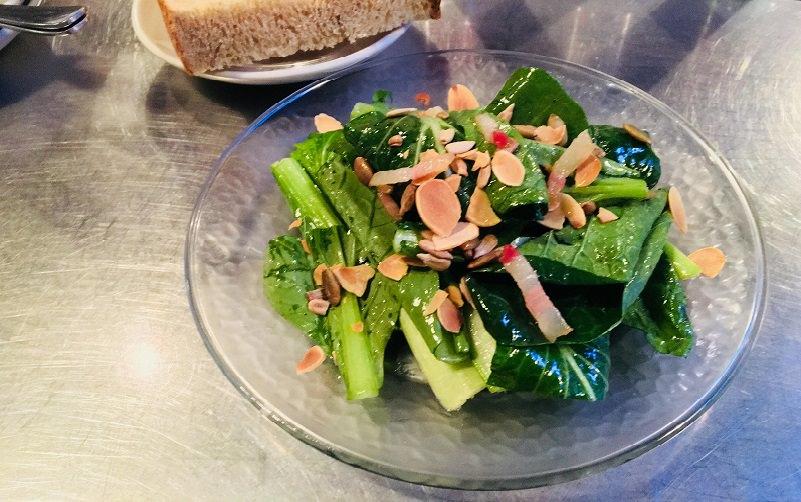 有機小松菜のサラダ(ハーフ)