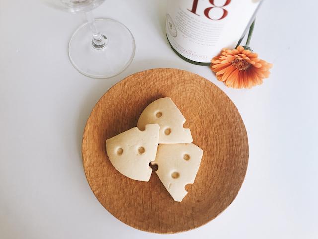 白ワイン×「焼きチョコチーズ」
