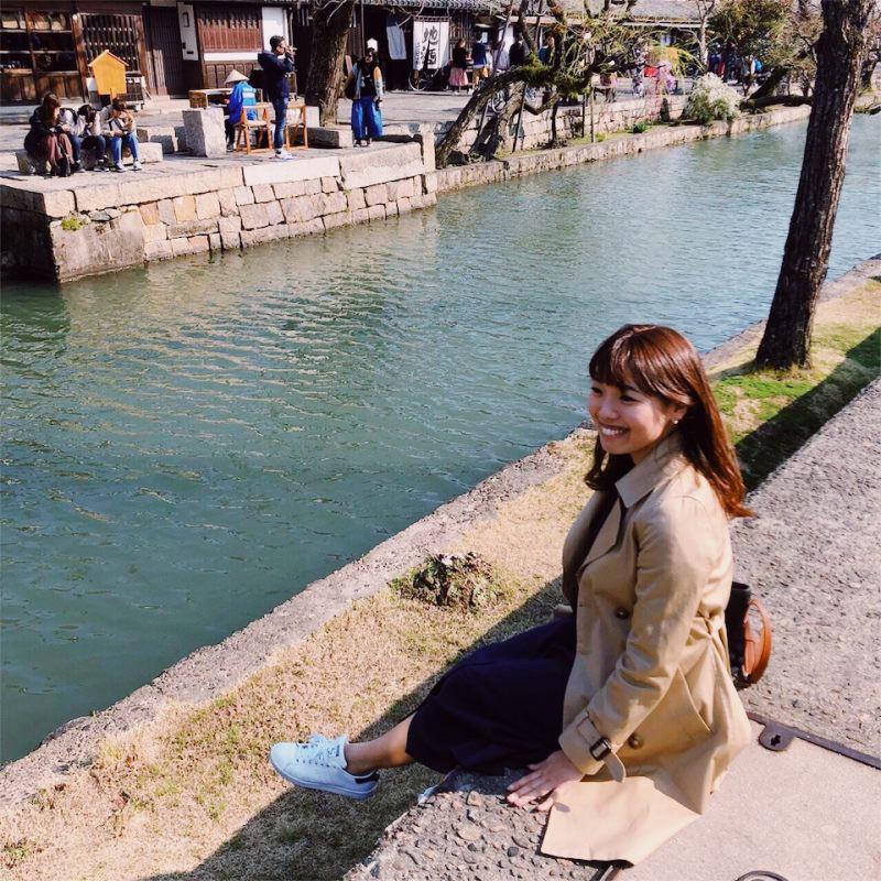 倉敷川畔 川辺