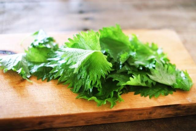 紫蘇などの香味野菜