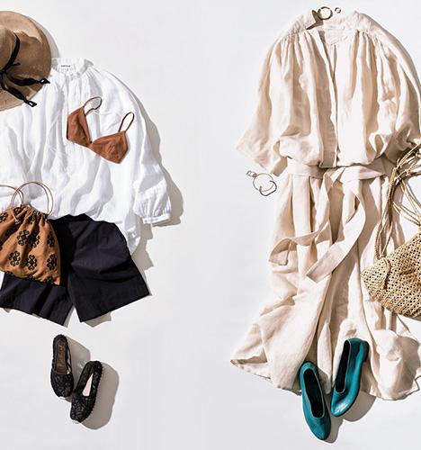 d4d1b1d31fee 夏の旅行に着たいオススメコーデ。様々なシーンに合わせた服装をセレクトすれば、旅先でも気分上がるオシャレ上級者♪  動きやすいパンツスタイルからリゾート感ある ...