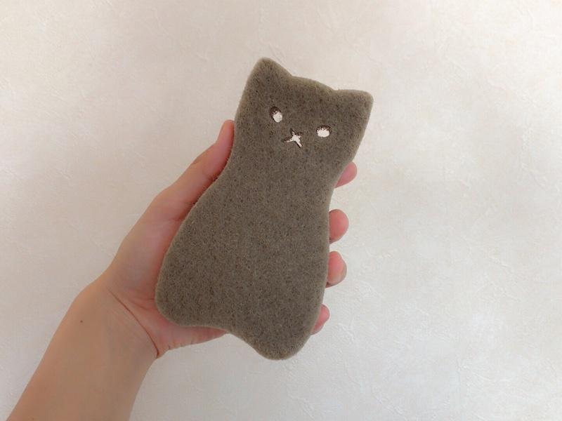 猫ちゃんスポンジ