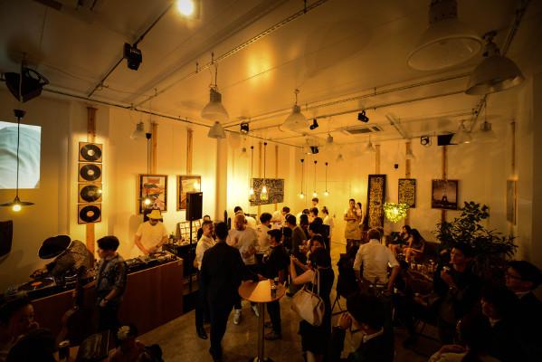 「LE CAFÉ CITROËN C3」レセプションパーティー