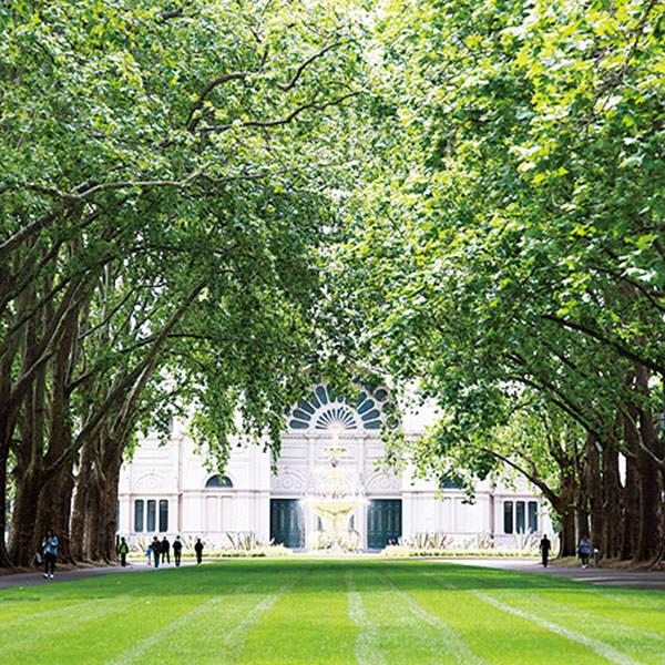 世界遺産のカールトン庭園