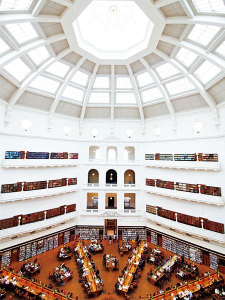 フォトジェニックな州立図書館