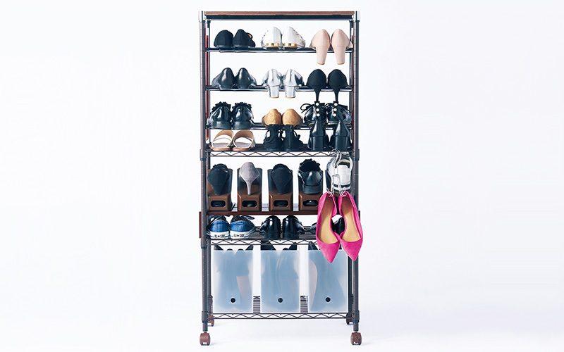 靴の収納】裏ワザ教えます! 100均・ニトリ・無印のBOXで