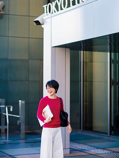 東京都写真美術館 事業企画課 事業第二係 学芸員 遠藤みゆきさん