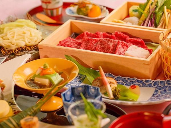 箱根湯本温泉 月の宿 紗ら:料理