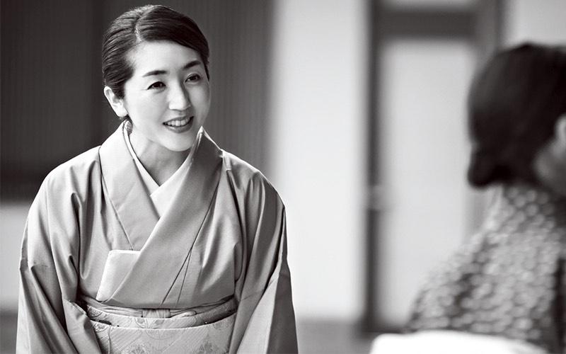 和倉温泉加賀屋の若女将・小田絵里香さん