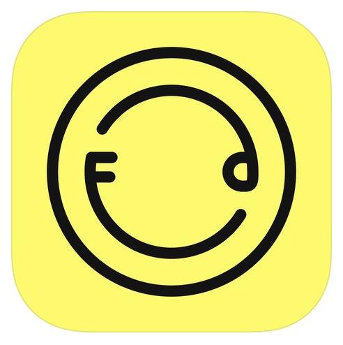 「Foodie」アプリ