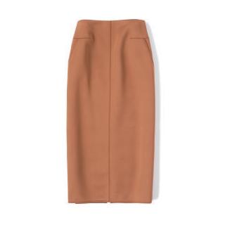 キャメルタイトスカート