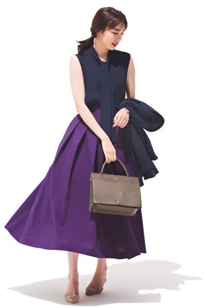 【10】紫のスカート