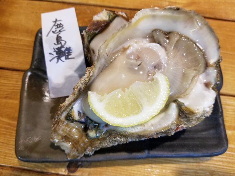 茨城県産の岩牡蠣