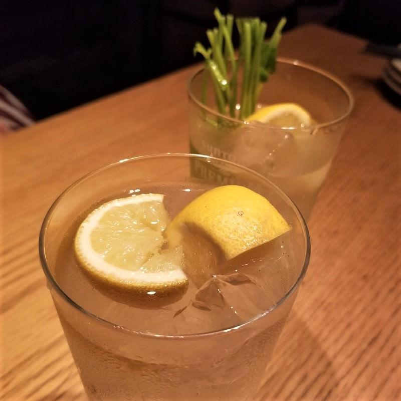 レモン&パクチーの根サワー