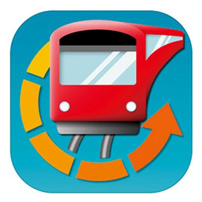 「駅.Locky」アプリ