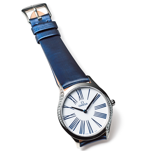 【4】オメガのダイヤモンド時計